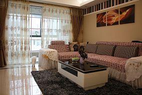 现代三居室家庭装修设计效果图
