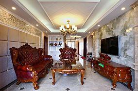 欧式复古风格别墅室内设计装修图片