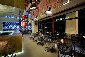 海洋主题咖啡厅室内设计图片