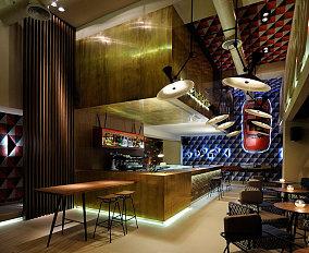 LOFT风格海洋主题咖啡厅