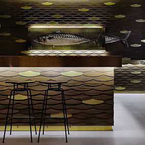 海洋主题咖啡厅图片