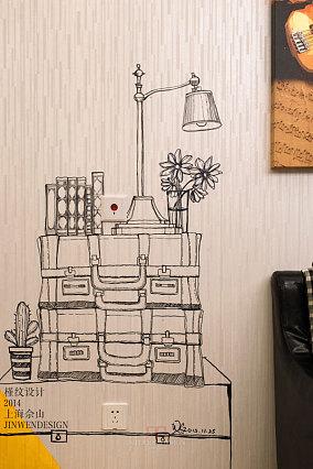 欧式风格室内背景墙设计图片
