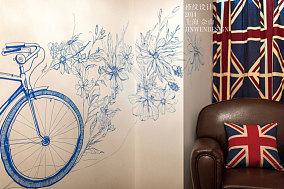 欧式风格小户型室内背景墙图