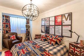 欧式风格温馨小户型卧室效果图