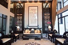 传统中式家装风格效果图