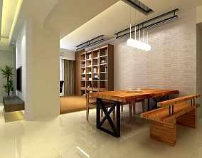 浅色调的日式二居家装效果图