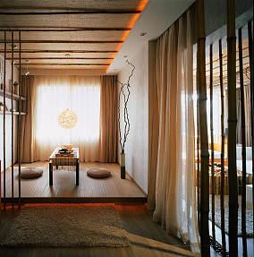 精美84平米二居装修设计效果图片