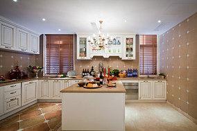 清亮的简欧风厨房效果图
