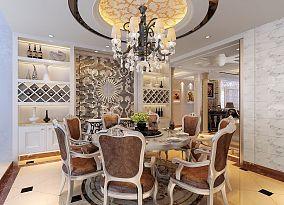 浪漫欧式家装餐厅设计图