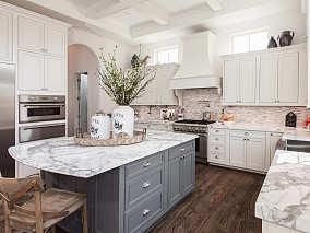 特色的欧式风格厨房效果图