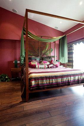面积130平别墅卧室装修欣赏图片大全
