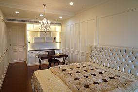 轻盈优美的新古典风格卧室效果图