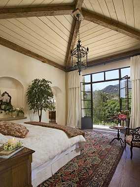 浪漫地中海风次卧室效果图