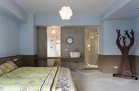 遨游在童话世界的地中海风格卧室效果图