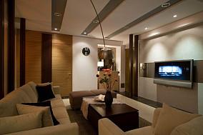 典雅小户型家装客厅效果图