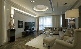 古典二居室家装效果图
