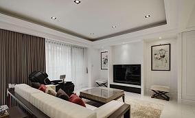 新古典三居室家装效果图