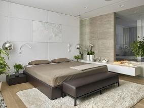 温润一居室家装效果图