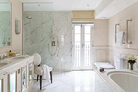 素白卫生间图片欣赏