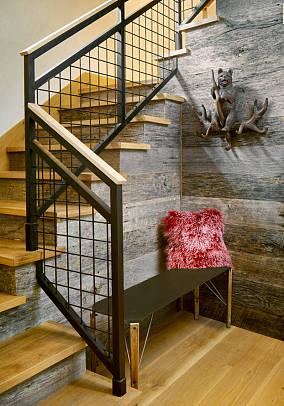 美式楼梯图片欣赏