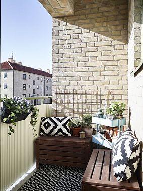 日光沐浴阳台设计图片