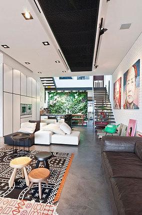 原生态的宜家风格客厅效果图