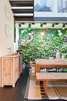 原生态的宜家风格餐厅设计效果图