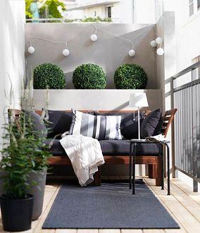 绿植阳台效果图