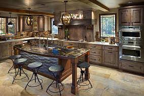 古典厨房图