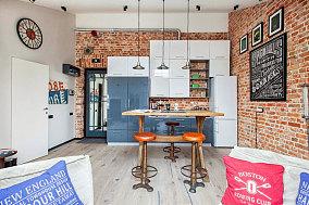40平米一居室家装效果图