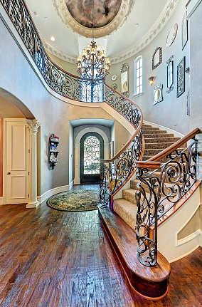 欧式家装楼梯图片欣赏
