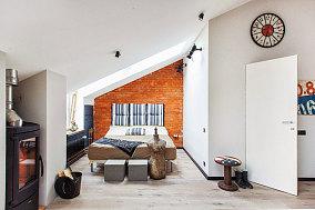 40平米一居室家装主卧效果图