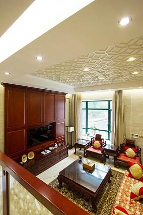 热门139平米中式别墅欣赏图