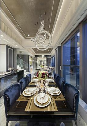 古典别墅餐厅效果图
