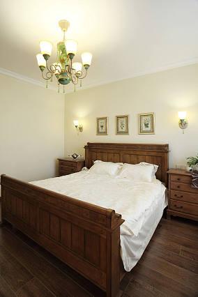 细雨之夏复式家装卧室效果图