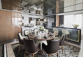 新古典二居室家装餐厅效果图