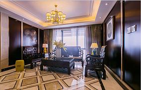 明亮中式家装效果图