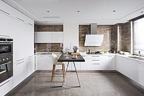 新古典二居室家装厨房效果图