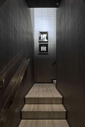 露天别墅家装楼梯效果图