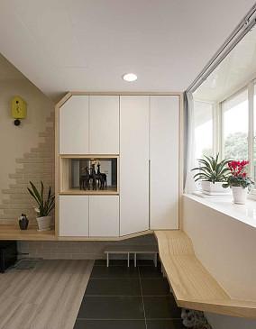 现代时尚宜家设计二居室效果图