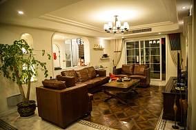 美式田园风格一居室设计效果图