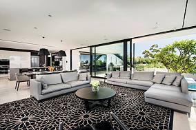 美式现代家装一居室装修图