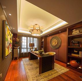 东南亚风四居室设计装修图