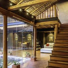 别墅东南亚风楼梯图册