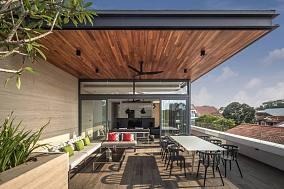 东南亚风别墅效果图设计