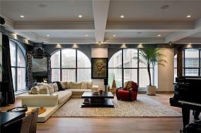 东南亚风家装三居室效果图