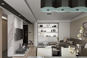现代风家居一居室装修图
