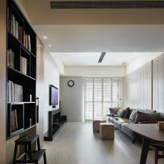家居美式格调三居装修图