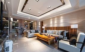 中式现代风四居装修