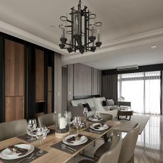 客厅餐厅一体设计图